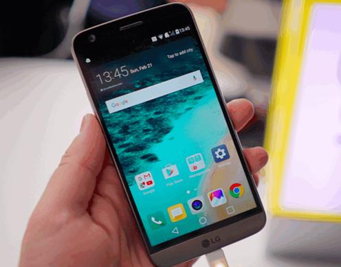Корпус LG G5 виявився не зовсім металевим