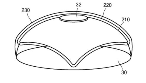 В Samsung патентують лінзи з вбудованою камерою