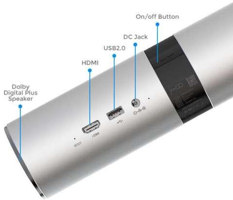 JmGO View новий портативний проектор