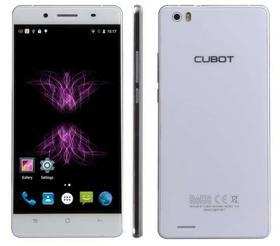 Бюджетний смартфон Cubot X16 працює з жестами