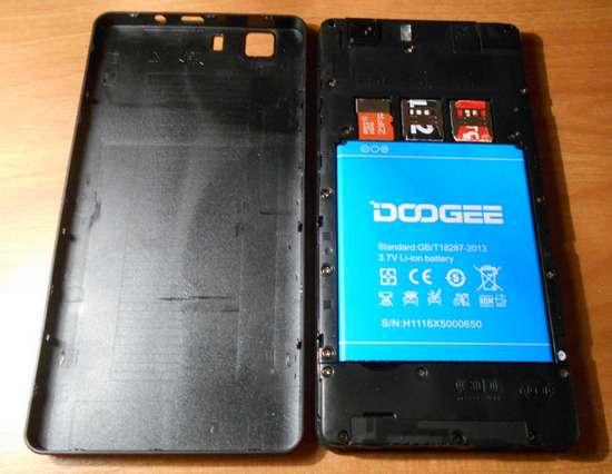Смартфон Doogee X5 дешево і не сердито