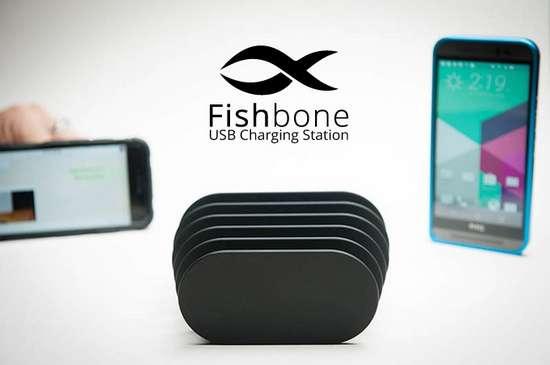 Fishbone – зарядна станція для всієї родини