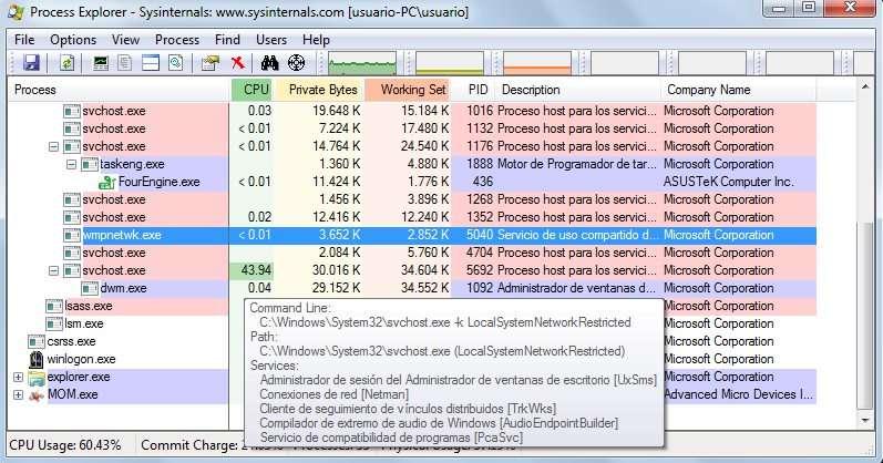 Svchost.exe LocalSystemNetworkRestricted вантажить жорсткий диск рішення