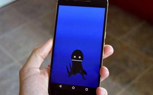 На екрані зявився Восьминіг — як прибрати з телефону