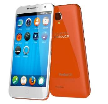 Alcatel OneTouch Fire E смартфон на Firefox OS вже в продажу