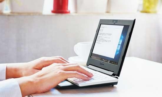 Portabook XMC10 компактний ультра-бук з клавіатурою