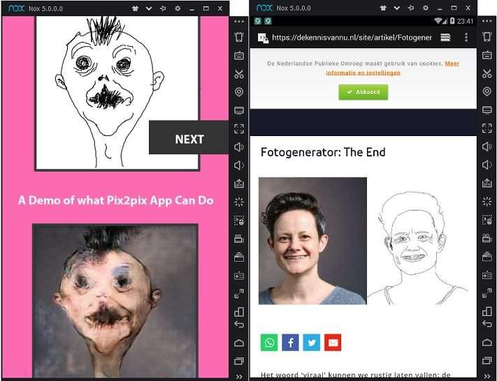 Pix2pix малювати онлайн на ПК