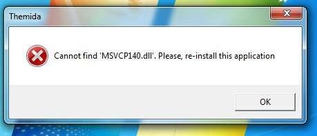 msvcp140.dll not found pubg